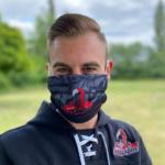 Gesichtsmaske Niklas Bröckel Homepage