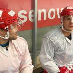 Jan Niklas Pietsch und Louis Trattner beim Training für Homepage
